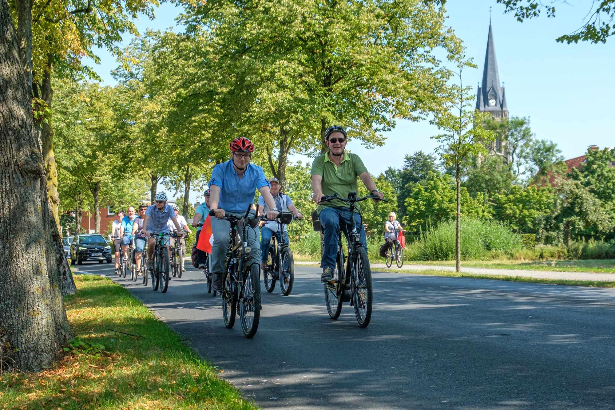 Fahrrad fahren in Ascheberg