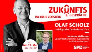 Olaf Scholz Zukunftsgespräch