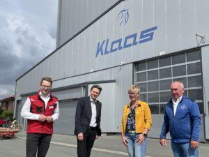 Besuch Rolf Mützenich bei Klaas