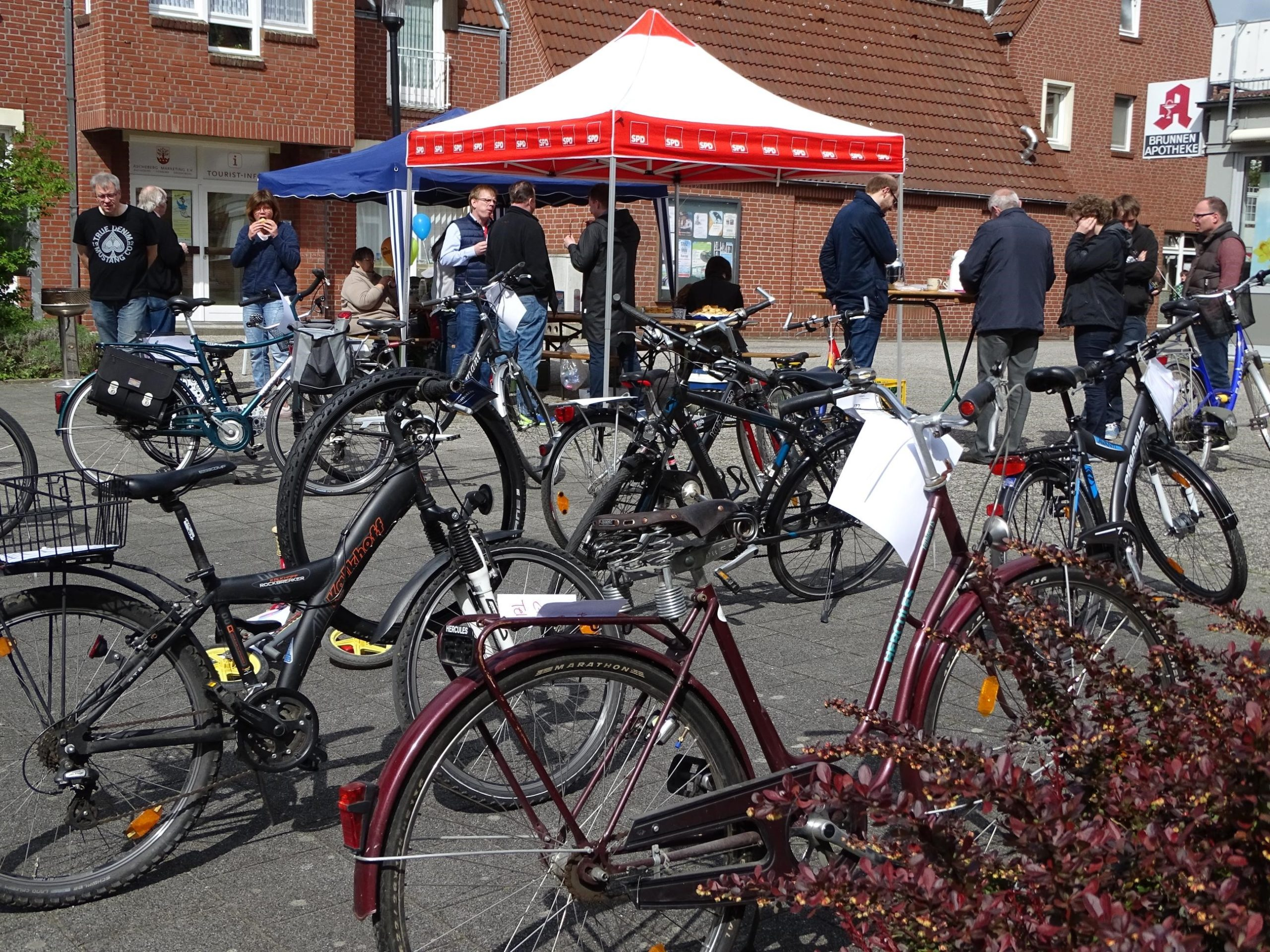 Fahrradbörse SPD und AWO